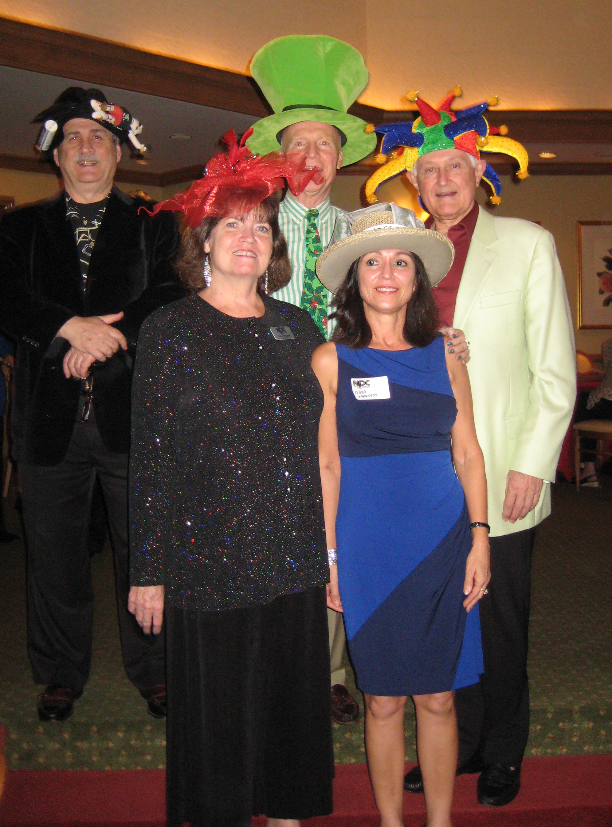 Hat Contest Winners 2012