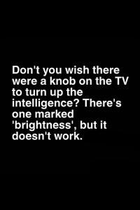 TV joke
