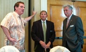 Randall Kenneth Jones, Mike Trephan, Jerry Sanford