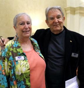 Rhona Saunders and George Walmsley