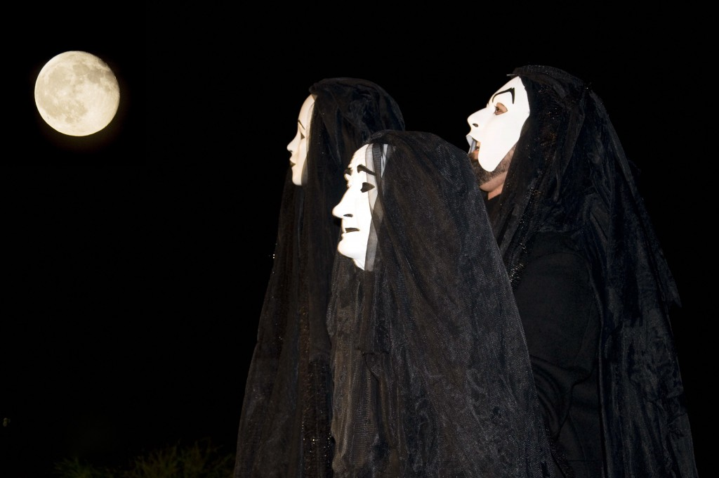 "Mark Vanagas as The Witches in ""Macbeth, A Love Story."" (2011)"