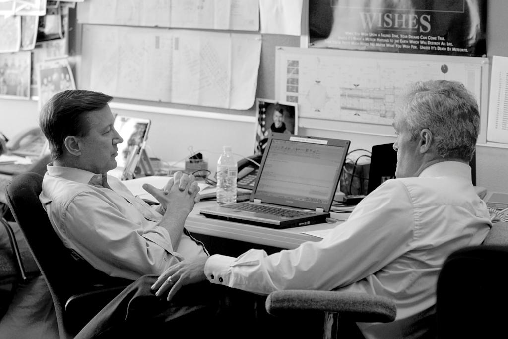 Bob Orr and Scott Pelley, CBS News